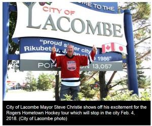 Hometown Hockey Lacombe