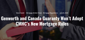 Mortgage Rule Changes Cmhc