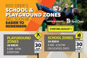 Red Deer School Zone Changes